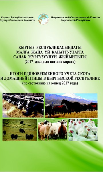 The results of the one-time registration of livestock and poultry for the Kyrgyz Republic